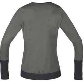 GORE WEAR C5 Trail Long Sleeve Jersey Women castor grey/terra grey